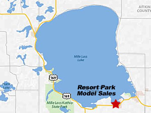 Mille Lacs Island Resort To Wahkon Mn